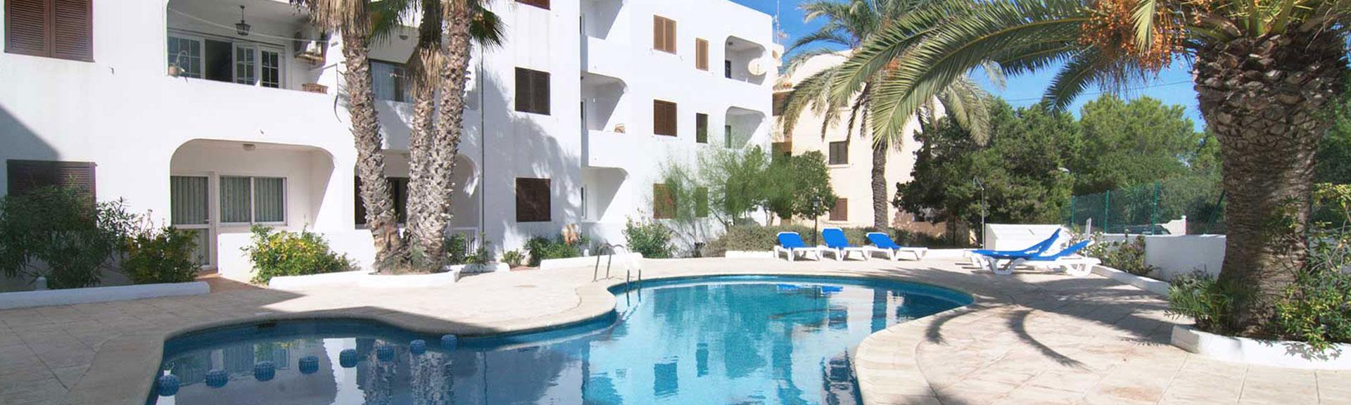 appartamenti sulla spiaggia di es pujols, a formentera | costamar ii